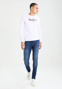 Pepe Jeans - EGGO LONG - Top sdlouhým rukávem - white - 1