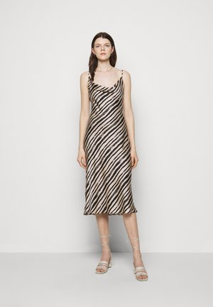 LOLA BRUSHSTOKE DRESS - Cocktail dress / Party dress - blush/black