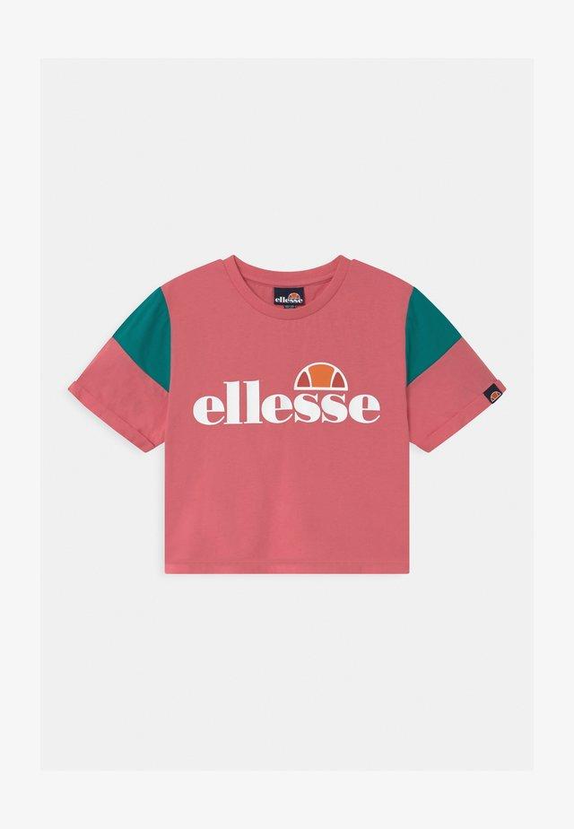 LAYKE - Print T-shirt - pink
