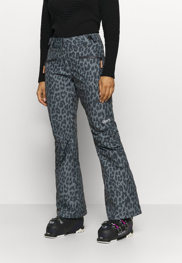 CORK PANT - Skibroek - black