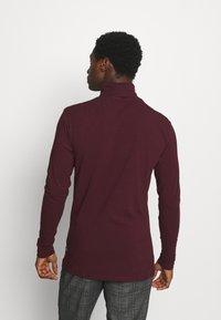 Pier One - Long sleeved top - bordeaux - 2