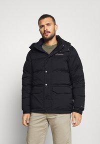 Columbia - ROCKFALL JACKET - Down jacket - black - 0