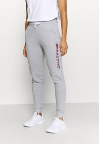 Tommy Hilfiger - BIG LOGO - Pantalon de survêtement - grey - 0