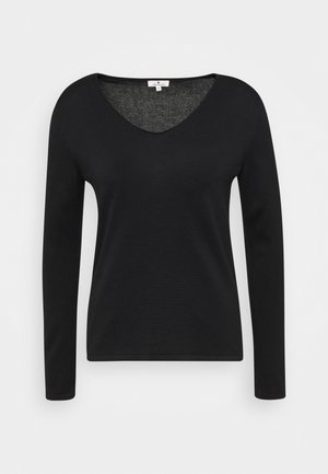 VNECK - Jumper - black