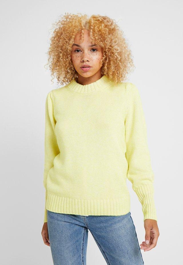 PUFF CREW - Sweter - radioactive neon