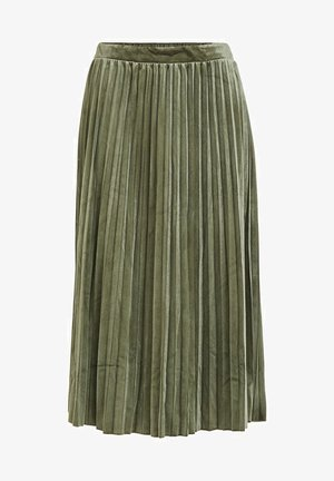 A-line skirt - forest night