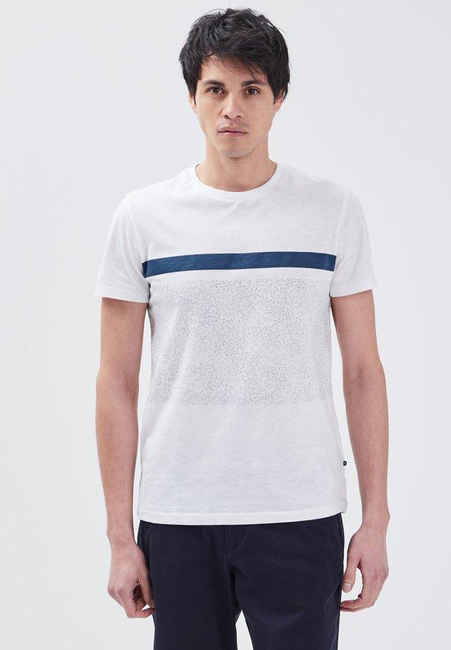 T-shirt con stampa - bleu foncé