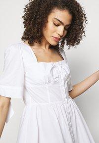 Pinko - ASSOLTO ABITO PESANTE - Day dress - white - 4
