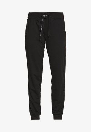 ONPPERFORMANCE ATHL AYN PANT - Leggings - Trousers - black/black & red