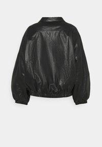 EDITED - KORI JACKET - Faux leather jacket - schwarz - 1