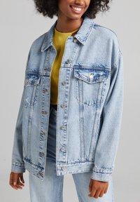 Bershka - Giacca di jeans - light blue - 3