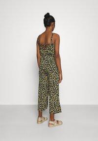 JDY - JDYALINA STRAP - Jumpsuit - black/yellow - 2
