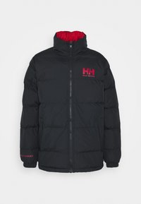 REVERSIBLE PUFFER JACKET - Giacca invernale - navy