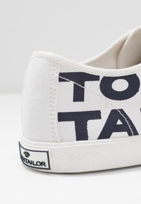 TOM TAILOR - Trainers - white/navy - 2