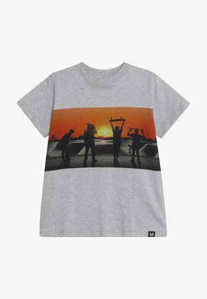 ROAD - T-shirt print - grey