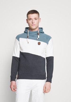 PESSAC - Jersey con capucha - aegean blue