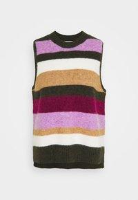 Six Ames - TONY - Stickad tröja - winter rainbow - 0