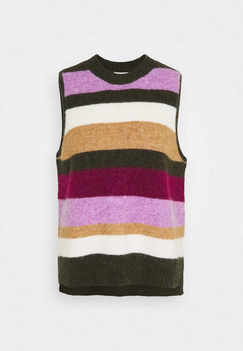 Six Ames - TONY - Stickad tröja - winter rainbow