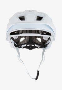 Fox Racing - SPEEDFRAME HELMET WURD - Helm - white - 1
