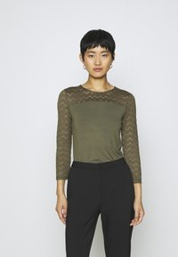Anna Field - Long sleeved top - olive - 0