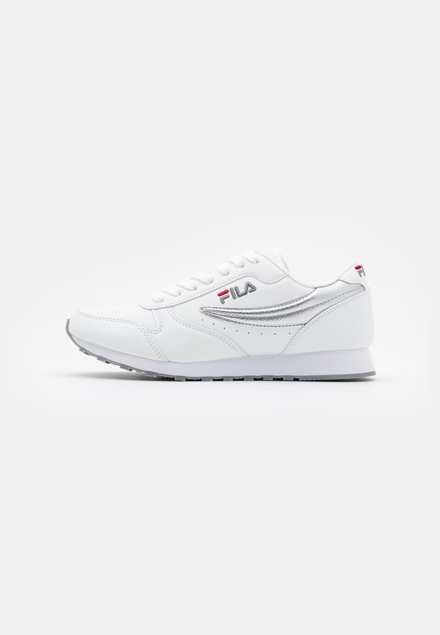 ORBIT - Zapatillas - white/silver