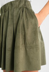 Moves - KIA - A-line skirt - dusty olive green - 4
