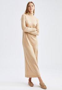 DeFacto - Jumper dress - brown - 0