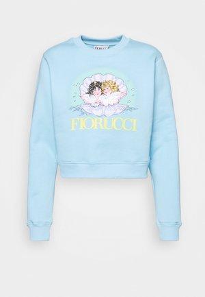 VENUS ANGELS CROP - Sweatshirt - pale blue