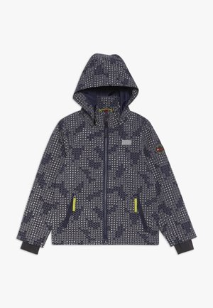 JOSHUA JACKET - Chaqueta Hard shell - dark navy