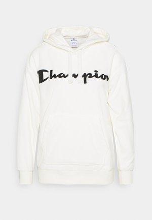 HOODED LEGACY - Bluza z kapturem - off white
