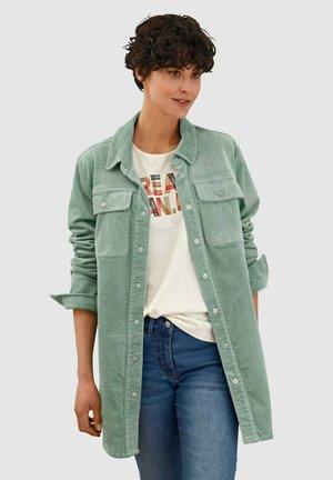 Short coat - salbeigrün