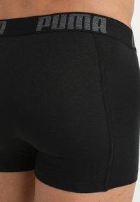 Puma - 3 PACK - Pants - black/anthracite - 5