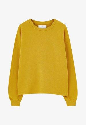 Sweatshirt - mustard yellow