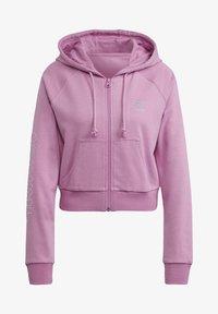 adidas Originals - Zip-up sweatshirt - pink - 7