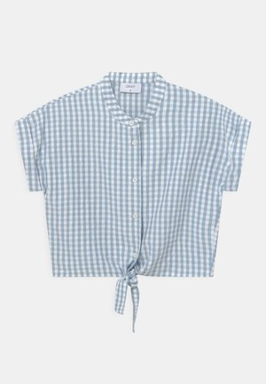 AROS CHECK - Blouse - light blue