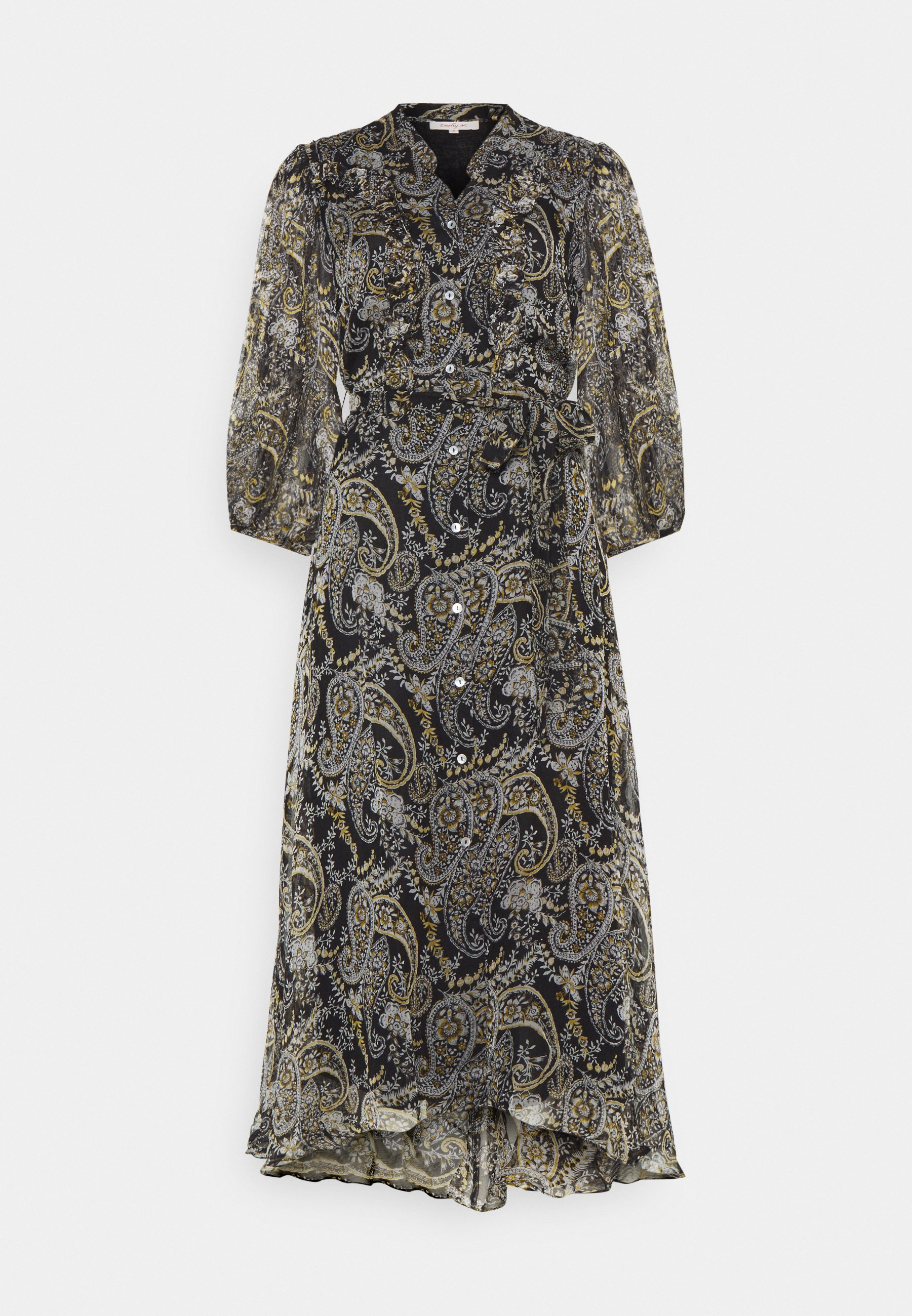 Mønstret jakke i chiffon SortPaisleymønstret DAME | H&M NO