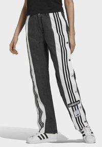 adidas Originals - Dry Clean Only xDENIM ADIBREAK - Flared jeans - black - 0