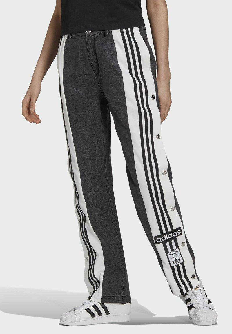 adidas Originals - Dry Clean Only xDENIM ADIBREAK - Flared jeans - black