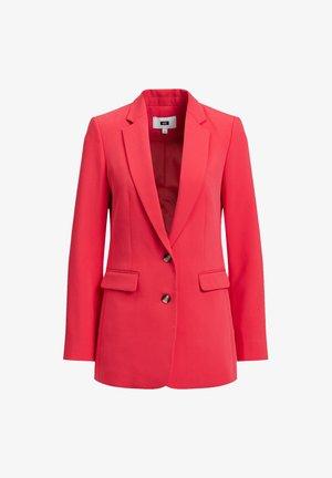 Short coat - coral pink