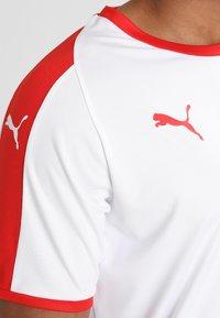 Puma - LIGA  - Sportswear - white/red - 3