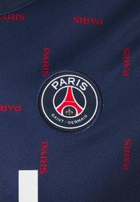Nike Performance - PARIS ST. GERMAIN TOP - Pelipaita - midnight navy/midnight navy/white - 2