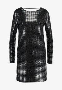 Gina Tricot - KERRA GLITTER DRESS - Cocktailkjoler / festkjoler - black - 5