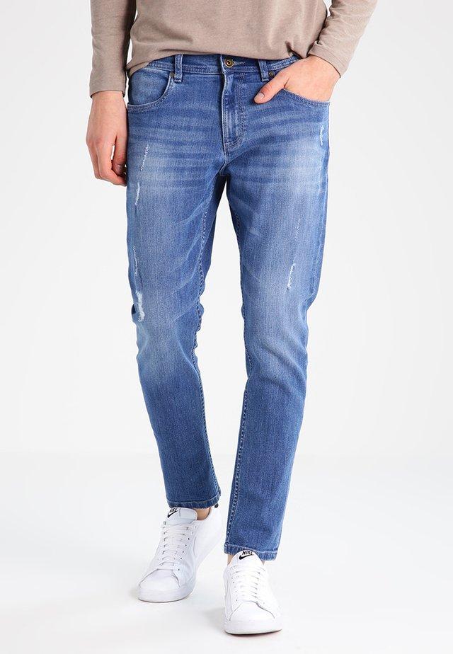 Jeans slim fit - blue washed