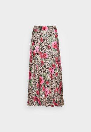 SKIRT SEAMS TIGER ROSE - A-snit nederdel/ A-formede nederdele - multi-coloured