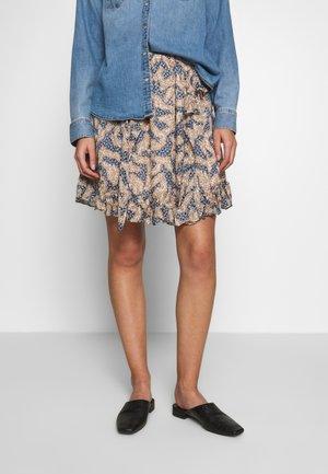 WILDLY  - Áčková sukně - creme de peche