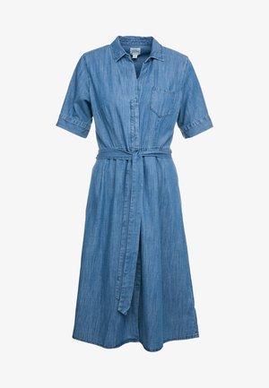 REDBURY DRESS CHAMBRAY - Shirt dress - lakeshore blue