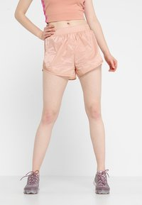 Nike Performance - TEMPO SHORT TECH PACK - Sports shorts - rose gold/reflective black - 0