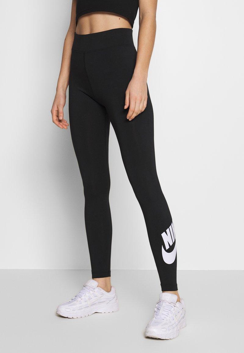 Nike Sportswear - LEGASEE FUTURA - Legging - black/white