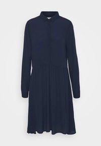 BINDIE DRESS - Shirt dress - navy blazer