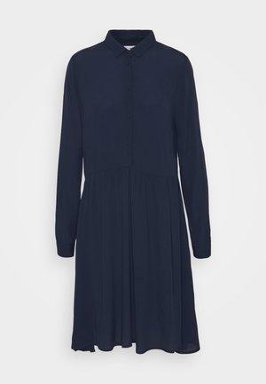 BINDIE DRESS - Košilové šaty - navy blazer